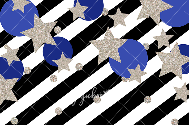 Jujuboo Bold Stars with Stripes Photography Backdrop