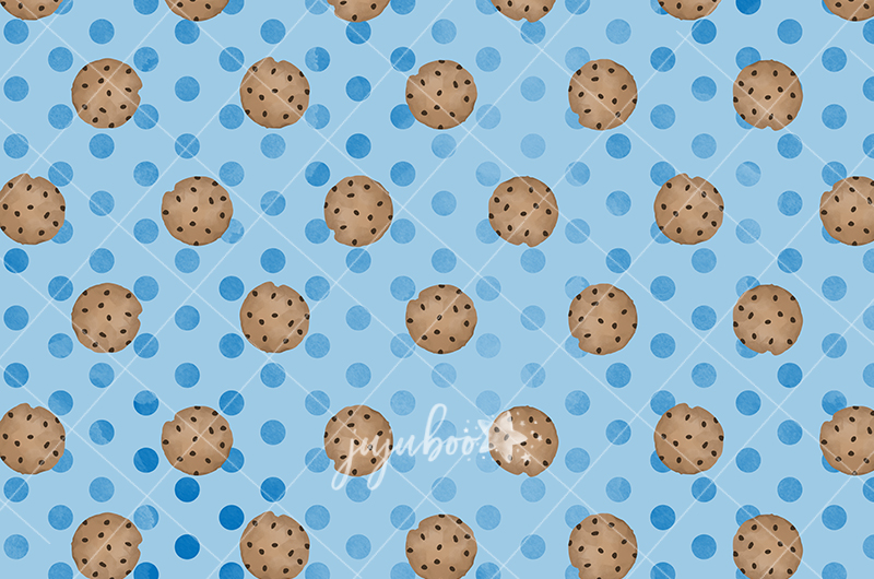 Jujuboo Cookie Monster Photography Backdrop