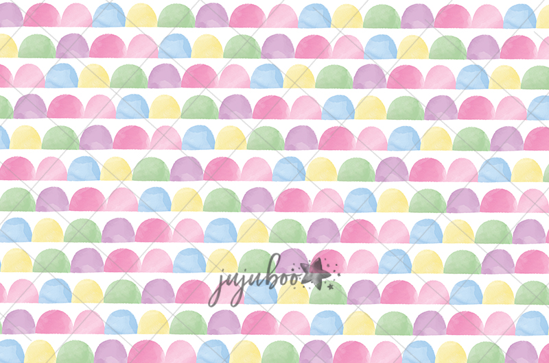 Jujuboo Jelly Bean Photography Backdrop