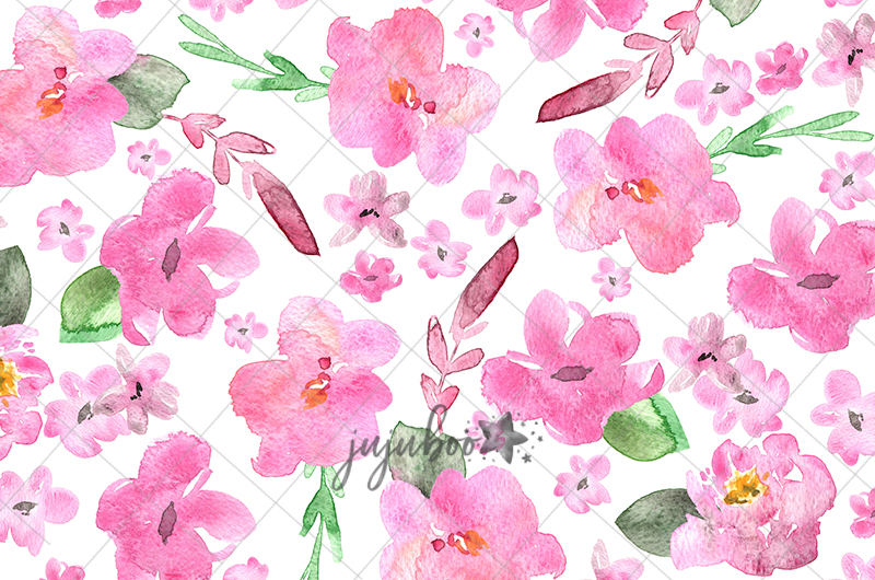 Jujuboo Jessica Floral Photography Backdrop