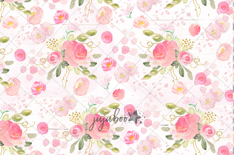 Jujuboo Posey Floral Photography Backdrop