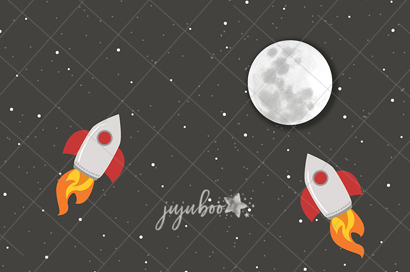 Jujuboo Spaceman Photography Backdrop
