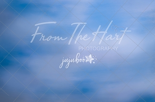Jujuboo Cloudy Sky Photography Backdrop
