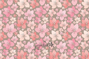 Jujuboo Cherry Blossom Love Photography Backdrop