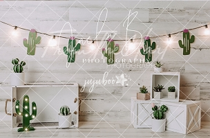 Jujuboo Cutest Cactus 1 Photography Backdrop