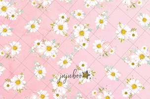 Jujuboo Daisy Mae Floral Photography Backdrop