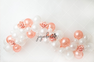 Jujuboo Francine Balloon Garland Photography Backdrop
