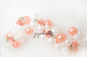 Jujuboo Francine Greenery Balloon Garland Photography Backdrop