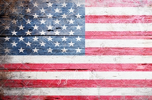 Jujuboo Old Glory Flag Photography Backdrop