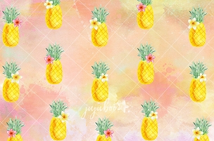 Jujuboo - Pineapple Photography Backdrop