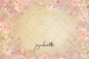Jujuboo Rebecca Floral Photography Backdrop