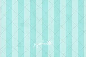 Jujuboo Stripes in Teal Photography Backdrop