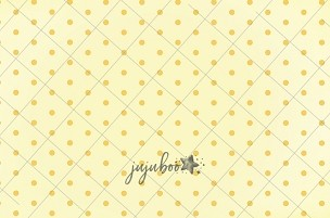 Jujuboo Small Dots Yellow  Photography Backdrop