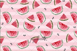 Jujuboo Watermelon Photography Backdrop