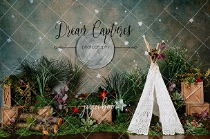 Jujuboo Wild Rumpus Photography Backdrop